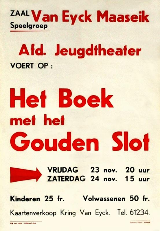 Jeugdtheater Speelgroep Van Eyck